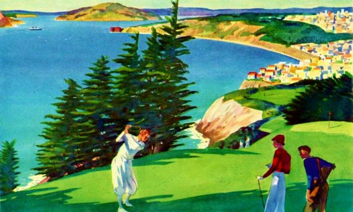 Photo: How To Promote San Francisco As A Golf Destination In 1933 (or 2016)