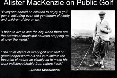 Photo: The MacKenzie Public Golf Vision - A New Year Message from the Founders