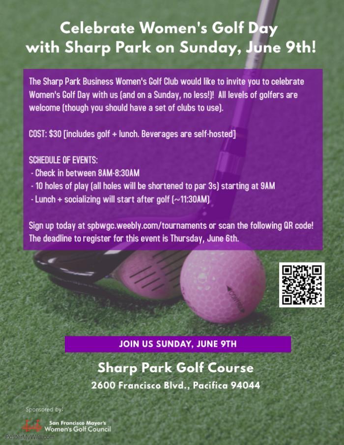 Photo: Women's Golf Day at Sharp Park on Sunday, June 9!