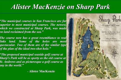 Photo: National Golf Press Clippings:Sharp Park is the Top US Priority for Muni Golf Restoration
