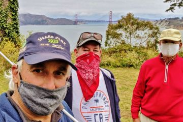 Photo: Golf In The Time Of Coronavirus: Golfers flock to SF public links