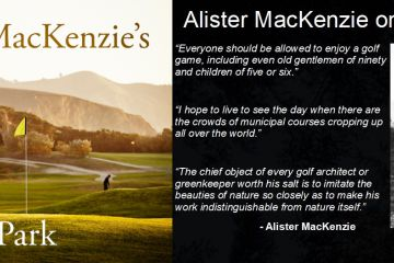 Photo: HAPPY 150th BIRTHDAY DR. ALISTER MACKENZIE -  Born Aug. 30, 1870