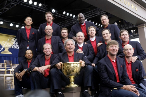 Victorious 2009 US Presidents Cup Team