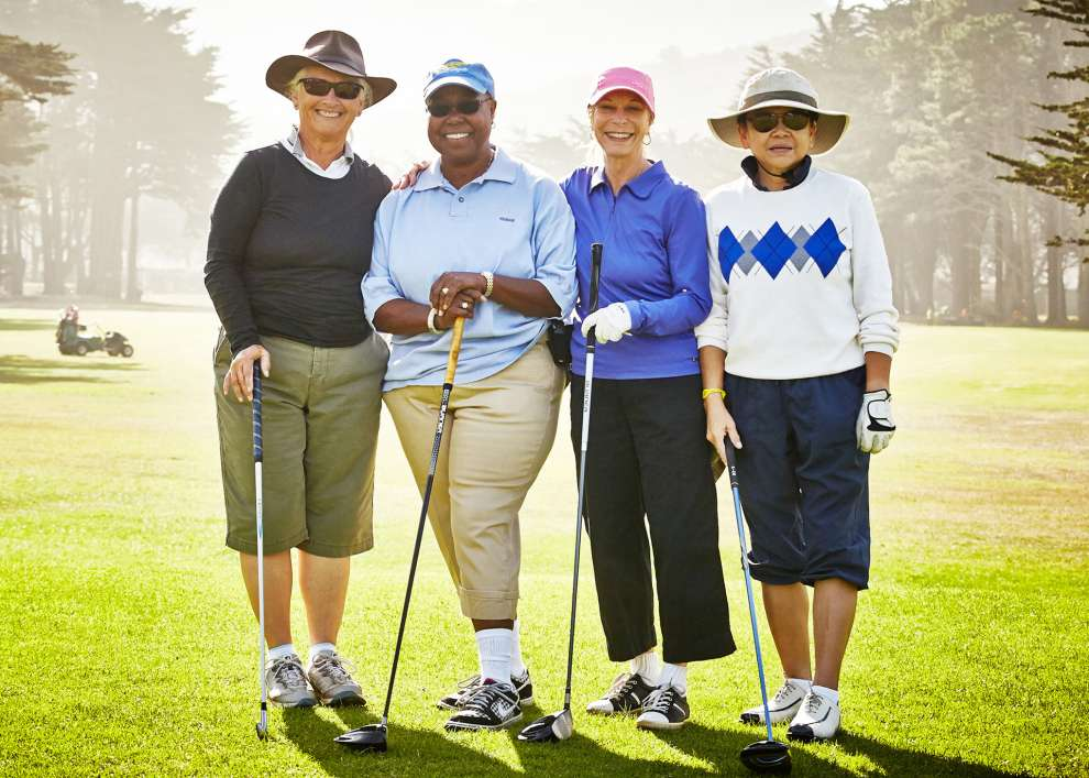 Sharp Park Golfers